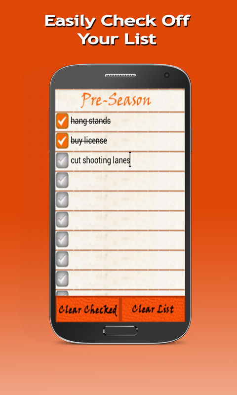 Hunting Planner- screenshot