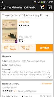 Flipkart eBooks- screenshot thumbnail