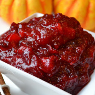Cranberry Pineapple Compote