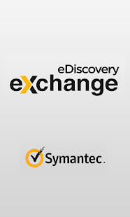 Symantec eDiscovery Exchange- screenshot thumbnail