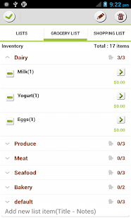 Make My List: To Do/Grocery - screenshot thumbnail