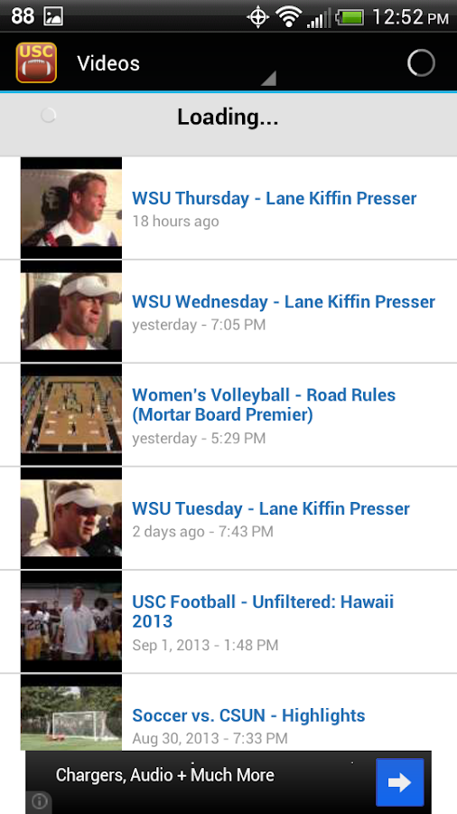USC Football - screenshot