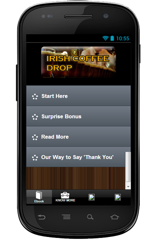 Free Cocktail Irish CoffeeDrop
