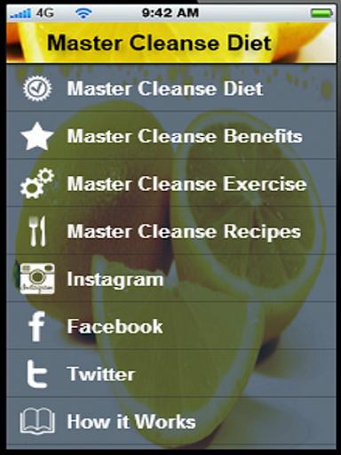 Master Cleanse Diet+