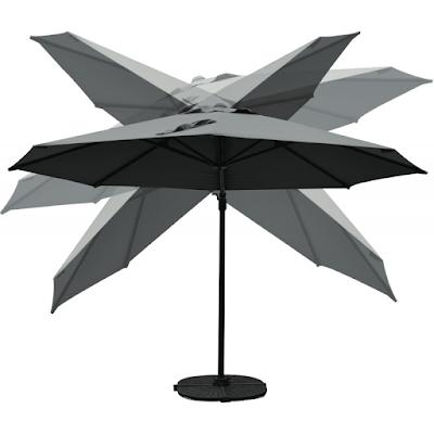 acheter parasol papillon ii narbonne chez arc en ciel. Black Bedroom Furniture Sets. Home Design Ideas
