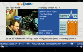 Screenshot of RTV Noord HD