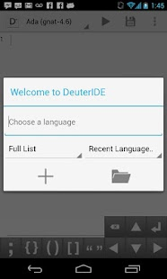 DeuterIDE - Compiler and IDE - screenshot thumbnail