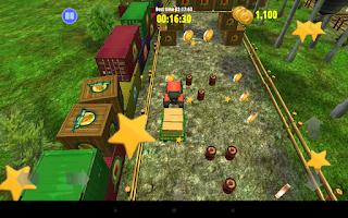 Screenshot of Farm Driver Skills Competition