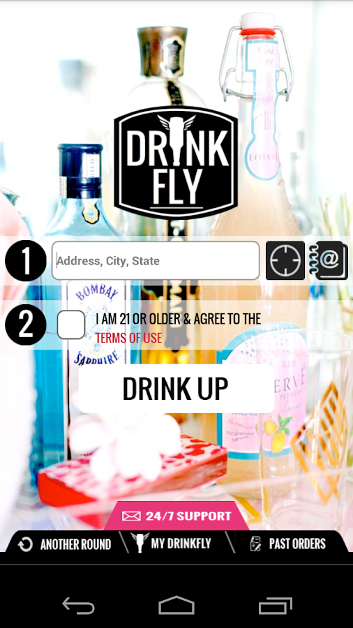 DrinkFly - screenshot