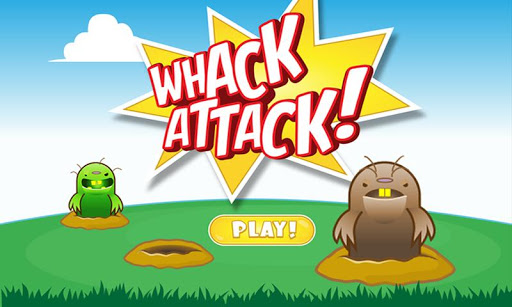 Whack Attack Fun War on Moles