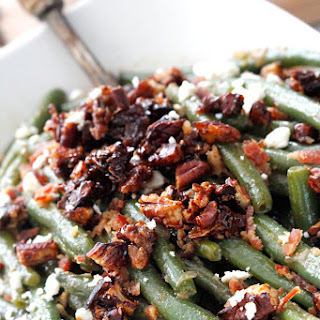 Dijon Maple Green Beans