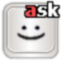 Shorter Smiley for ASK logo