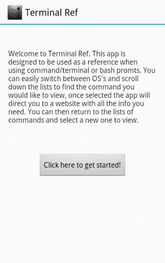 Terminal Ref