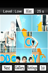 Coboy Junior Puzzle Wallpaper - screenshot thumbnail