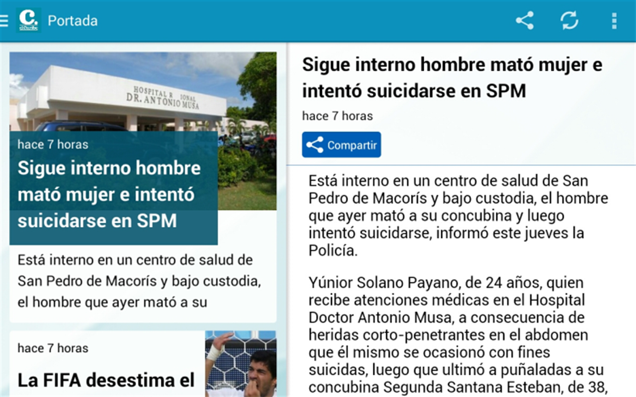 El Caribe - Oficial- screenshot
