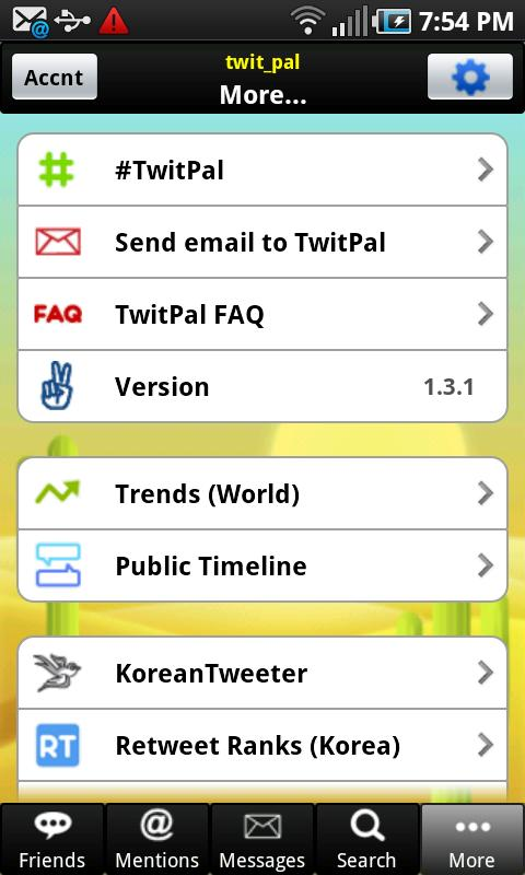 TwitPal for Twitter - screenshot