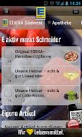 Screenshot of EDEKA Südwest
