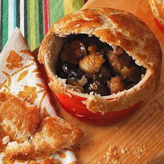 Mini-pork Pot Pies.