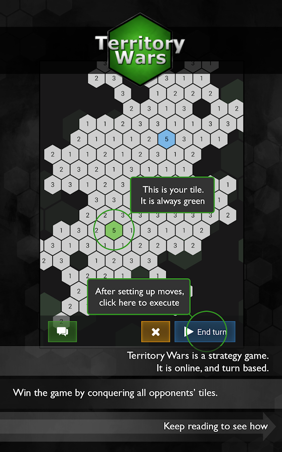 Territory Wars FREE (strategy) - screenshot