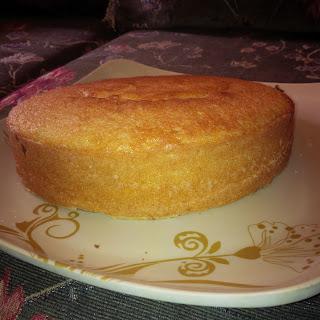 Easy Spongy Rich Cake.