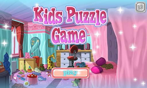 儿童拼图游戏