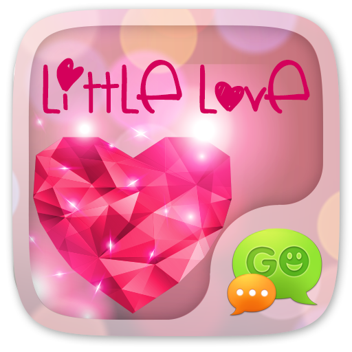 GO SMS LITTLE LOVE THEME Android APK Download Free By ZT.art