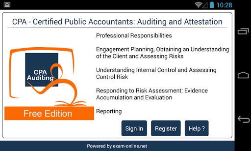 CPA Audit Exam Online Free