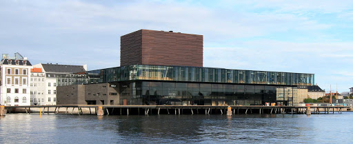 Royal-Danish-Playhouse - You can find the Royal Danish Playhouse along the waterfront in the Frederiksstaden neighborhood of central Copenhagen.