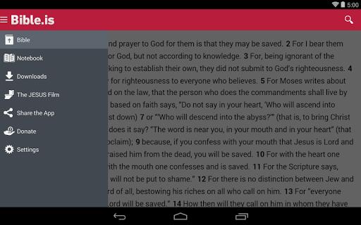 Bible: Dramatized Audio Bibles Screenshot