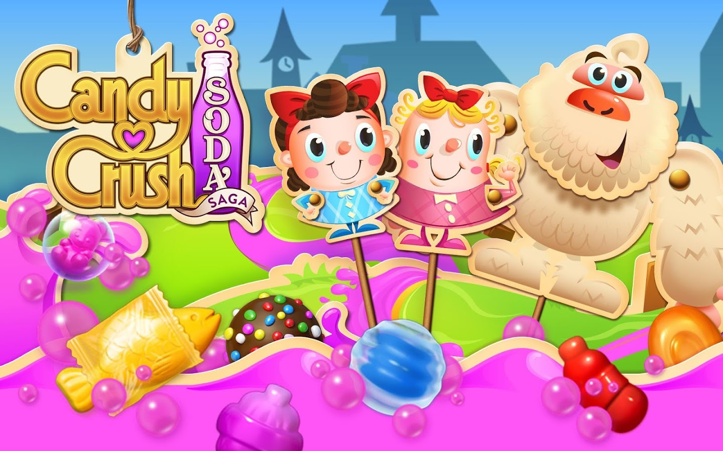 Candy Crush Soda Saga WindowsLover