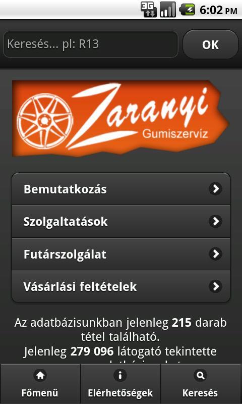 Használt-gumi- screenshot