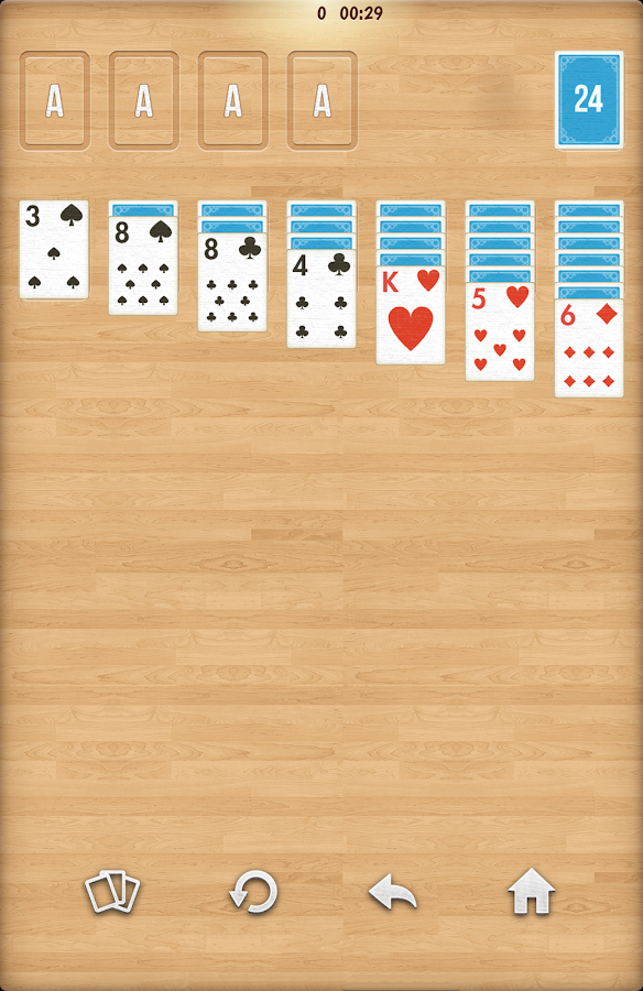 Solitaire FREE card game - screenshot