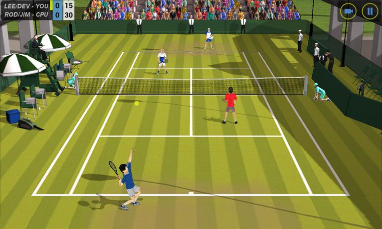 Flick Tennis screenshot #11