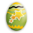 Easter cheer icon