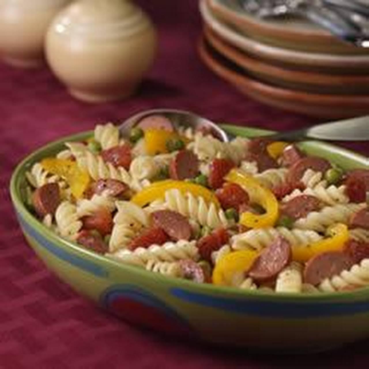 Hearty Pasta Dinner Salad