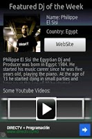 Screenshot of Trance Music Videos