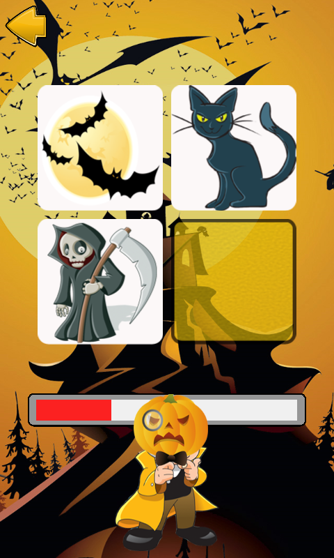 Halloween Find The Pair Free- screenshot