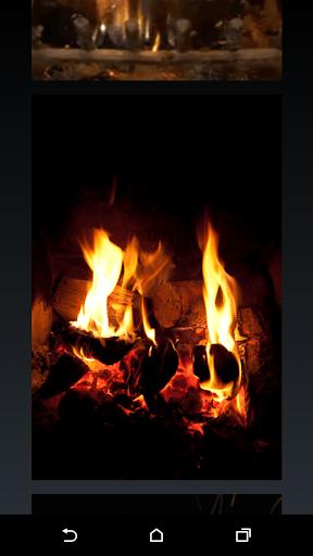 Fireplace Live Wallpaper HD