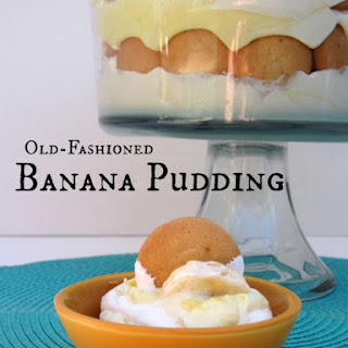 Old-fashioned Banana Pudding