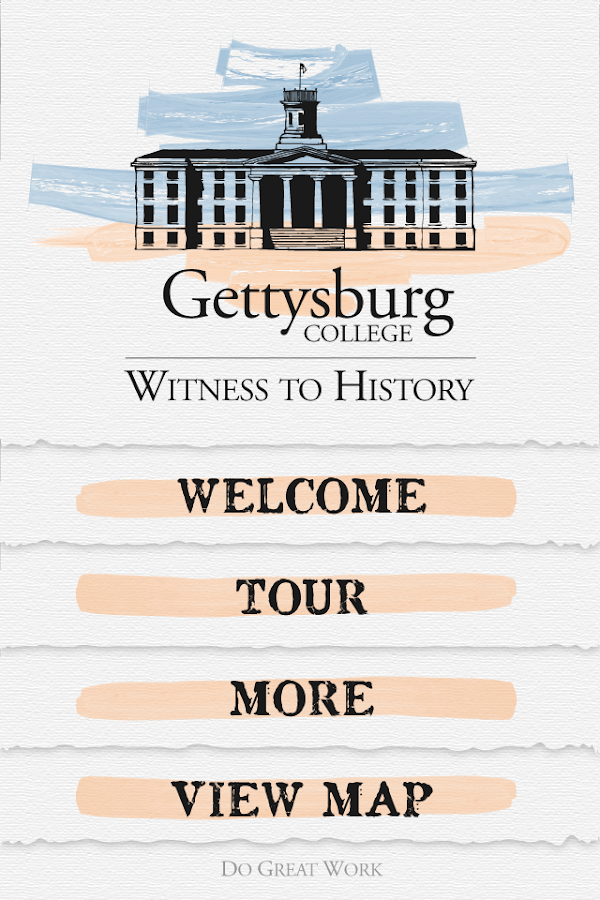 Gettysburg College History - screenshot