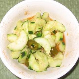 Chinese-Korean Cucumber Kimchi