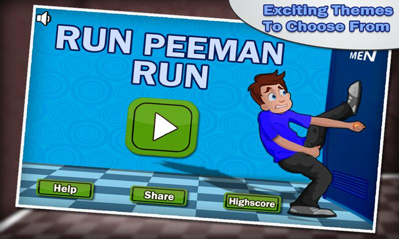 Run Peeman Run - screenshot