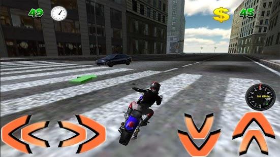 摩托车停放