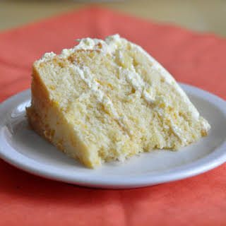 Pig Pickin' Cake (Mandarin Orange Cake with Pineapple Whipped Cream Frosting).