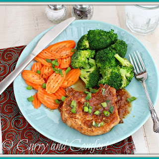 Asian Apricot Glazed Pork Chops (Throwback Thursday)