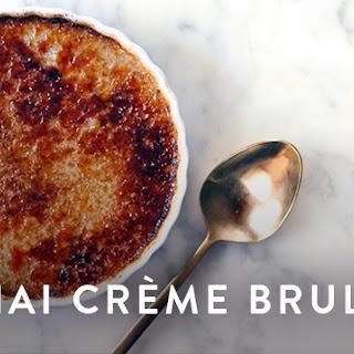 Chai Creme Brulee