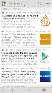 gReader | Feedly | News |  RSS - screenshot thumbnail