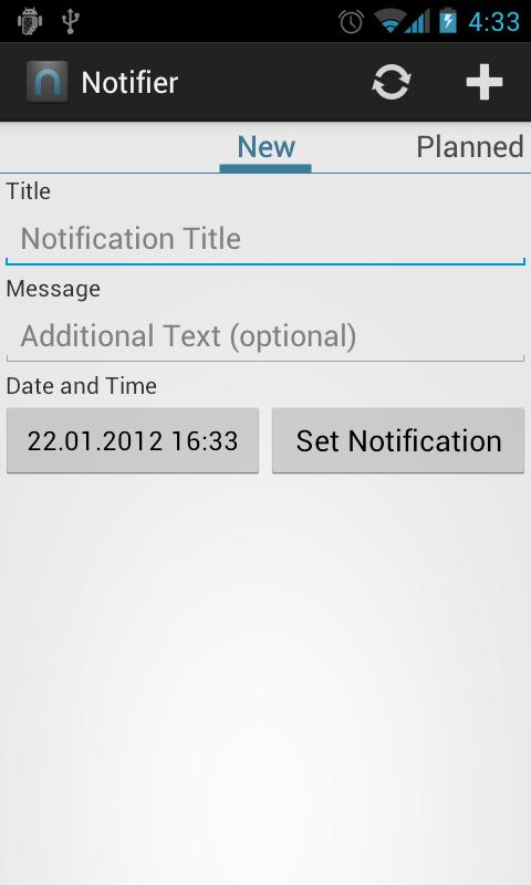 Notifier+ - screenshot