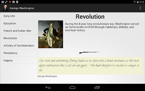 George Washington screenshot