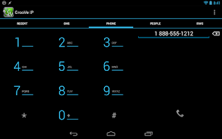 Screenshot of GrooVe IP - Free Calls